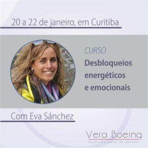 Eva Sánchez conduzirá curso de desbloqueios energéticos e emocionais
