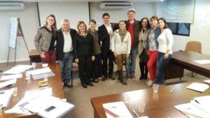 Participantes do curso de PNL para gestores