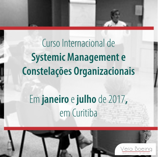 Curso Internacional de Systemic Management e Constelações Organizacionais